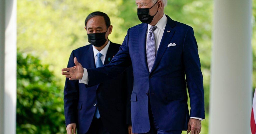 Biden y Suga se comprometen a enfrentar los desafíos de China en el Pacífico |  Noticias de Joe Biden